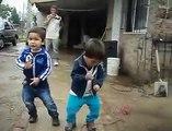 dancing kids at my hometown