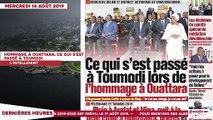 Le Titrologue du 14 Août 2019: CPI: Tournant décisif pour Gbagbo et Blé Goudé aujourd'hui
