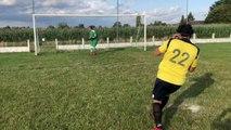 Foot - P3 : les joueurs de Saint Jean Tournai peuvent-ils marquer un penalty les yeux fermés ?