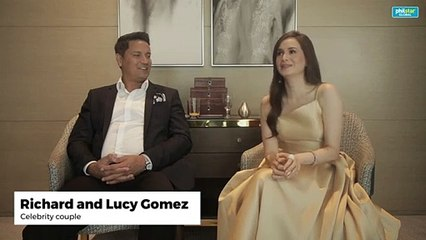 Richard and Lucy Gomez clears rumors about pregnancy