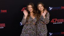 """Bianca and Chiara D'Ambrosio """"47 Meters Down: Uncaged"""" Premiere Red Carpet"""