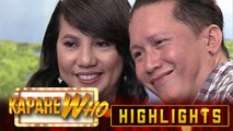 Dina Sabon nevie happily chooses Ang Sweat Naman as her KapareWHO | It's Showtime KapareWHO
