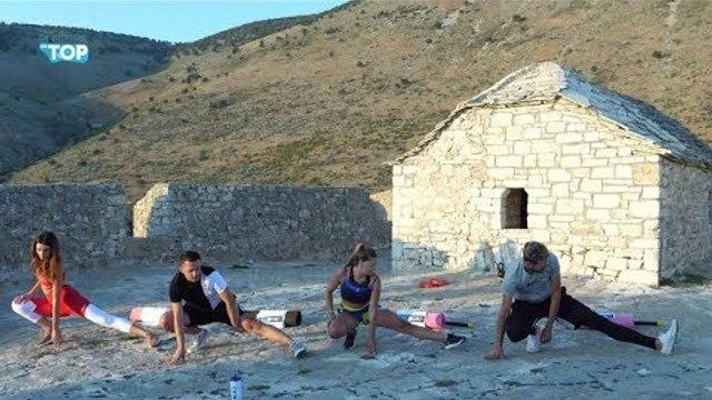 Stërvitje verore mbi kalanë e Porto Palermos - Pushime on Top