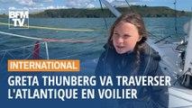 Greta Thunberg s'apprête à traverser l'Atlantique à bord d'un voilier