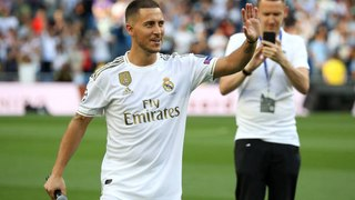 Eden Hazard file au Real Madrid