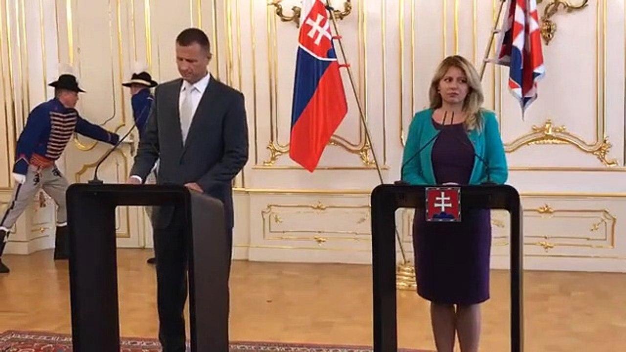 ZÁZNAM: Brífing prezidentky Z. Čaputovej a ministra spravodlivosti G. Gála