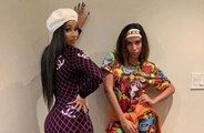 Cardi B and Anitta hit the studio