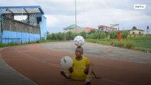 Meet Nigeria's mini Messi - Eche, the 11-year-old king of keepie-uppies