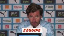 Villas-Boas «À 90 %, je pense que Thauvin restera Marseillais» - Foot - L1 - OM