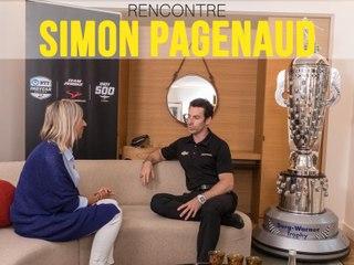 Rencontre avec Simon Pagenaud, vainqueur des 500 Miles d'Indianapolis