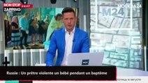 Russie : Un prêtre violente un bébé pendant un baptême (vidéo)