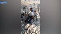 إسقاط طائرة حربية لميليشيا أسد واعتقال قائدها