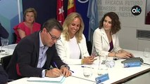 Perfil de Isabel D´íaz Ayuso, presidenta  la Comunidad de Madrid