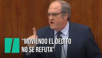 """El cabreo de Ángel Gabilondo: """"Con el dedito no se refuta"""""""
