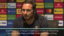 كرة قدم: كأس السوبر الأوروبي: لامبارد وكلوب فخوران بلحظة التحكيم التاريخية
