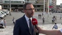 SPOR Bakan Kasapoğlu'nun açıklamaları