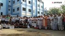 West Bengal में डॉक्टरों पर हमले से दिल्ली में नाराजगी, एम्स के डॉक्टरों ने सिर पर पट्टी बांधकर जताया विरोध