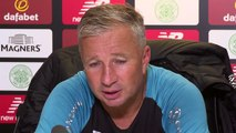 Delight and discontentment from Petrescu as Cluj oust Celtic; Lennon on UCL loss