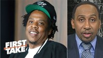 It's a beautiful thing for Jay-Z's Roc Nation to partner with the NFL – Stephen A. _ First Take