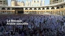 La Mecque: time-lapse du pèlerinage annuel du hajj