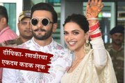 Deepika and Ranveer off to Bangalore for their Wedding Reception