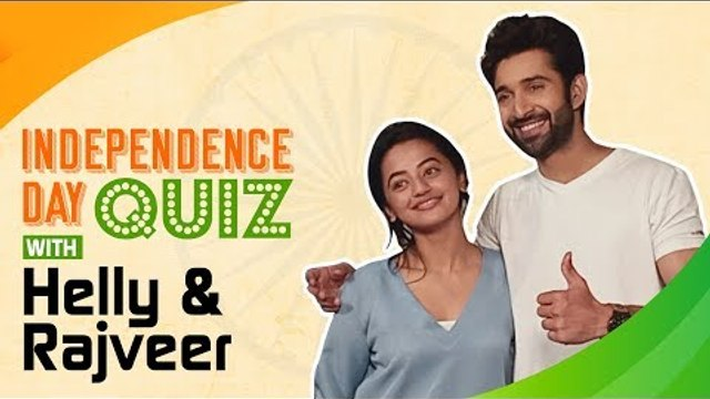 EXCLUSIVE: Independence Day Quiz with Helly Shah and Rajeev Singh