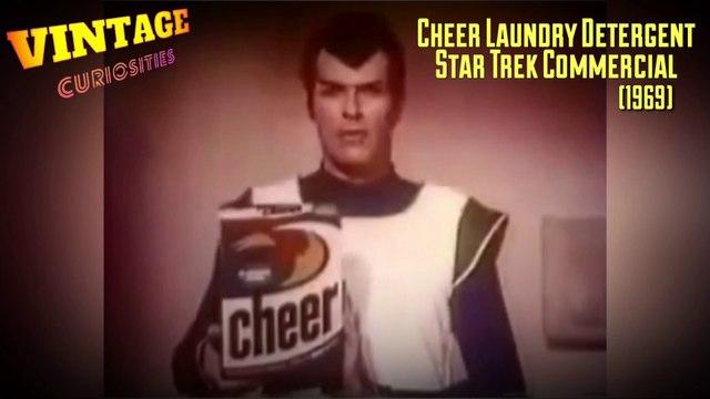 Cheer Laundry Detergent Star Trek Themed TV Spot (1969)