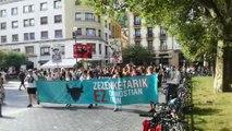 Manifestación antitaurina en San Sebastián