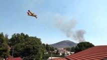 """""""كارثة بيئية"""" في جزيرة إيفيا اليونانية بسبب حريق مدمر"""