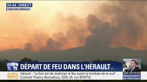 Incendie dans l'Hérault: 25 hectares sont partis en fumée