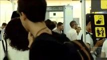 Jornada de huelga de los vigilantes de seguridad en el aeropuerto de El Prat