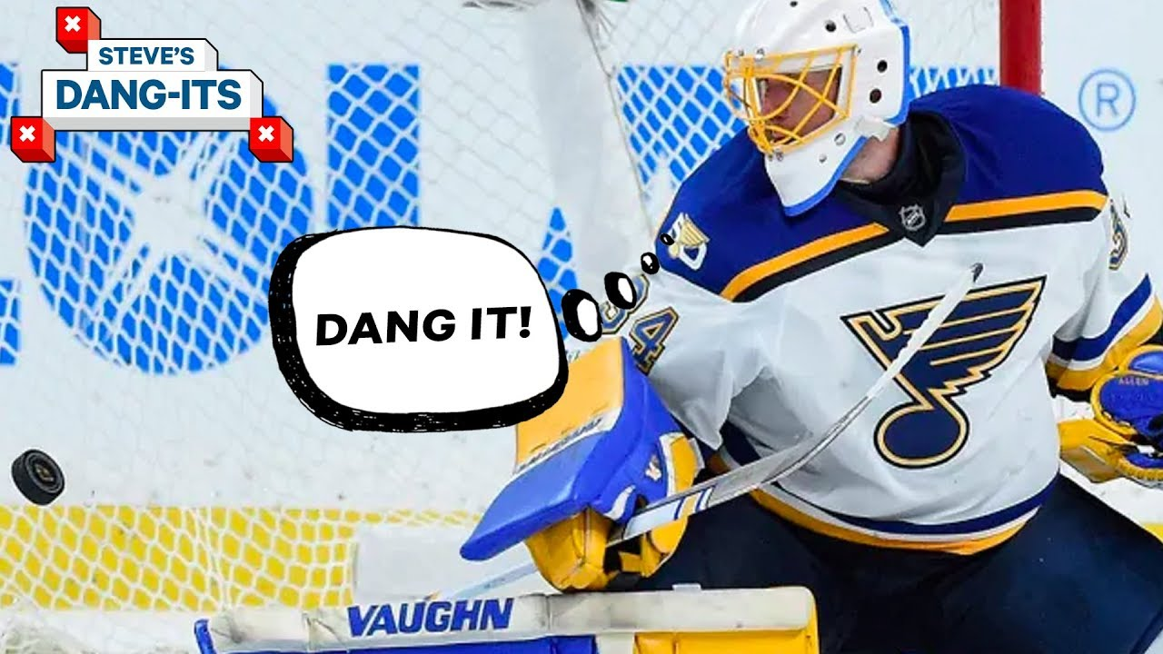 NHL Worst Plays of The Year – Day 31_ St. Louis Blues Edition _ Steve's Dang Its