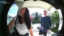 Dad Interrogates Daughter's First Date via Doorbell Camera