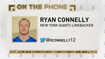 The Jim Rome Show: Ryan Connelly talks being drafted by NY Giants