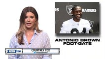 Antonio Brown Reveals Gruesome Cryotherapy Foot Blister On 'Hard Knocks'