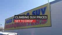 Climbing SUV Prices To Drop