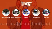 First Things First Audio Podcast(8 14 19) Cris Carter, Nick Wright, Jenna Wolfe _ FIRST THINGS FIRST