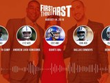 First Things First Audio Podcast(8.14.19) Cris Carter, Nick Wright, Jenna Wolfe _ FIRST THINGS FIRST