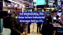 Dow Plummets Nearly 800 Points on Recession Worries