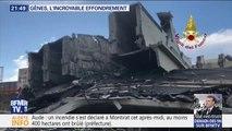 Un an après, le souvenir de l'effondrement du pont Morandi reste douloureux à Gênes