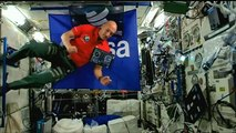Watch: Euronews' correspondent becomes first space DJ