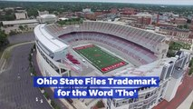 Ohio State's Weird Trademark Submission