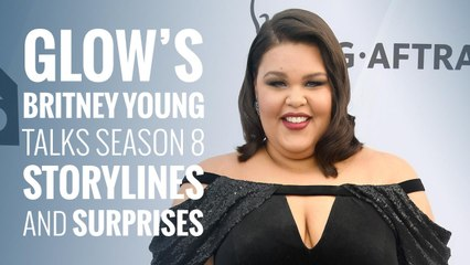 GLOW's Britney Young talks season 3 storylines and surprises!