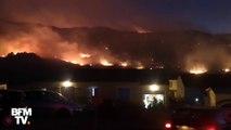 Vos images témoins des incendies dans le Languedoc