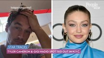 The Bachelorette's Tyler Cameron and Gigi Hadid Spotted Out Together Again in N.Y.C.