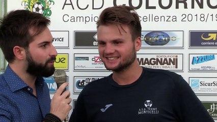 Colorno - T.Monticelli 1-0, le interviste del dopo-partita