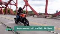 A primeira moto elétrica da Harley-Davidson