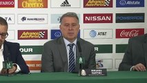 (Subtitled) Mexico coach Gerardo 'Tata' Martino looks ahead to managing against his old side Argentina