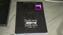 Death Note '06 & Death Note: The Last Name Double Feature Blu-Ray/DVD/Digital HD Unboxing