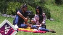 ¿Hubo beso entre Marian y Alann en su cita en picnic? | Enamorándonos